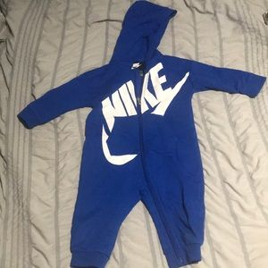 Nike Baby Boy Hooded Coverall